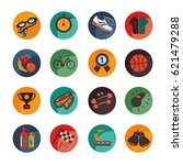 set icons of the sport and... | Shutterstock .eps vector #621479288
