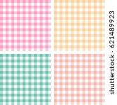 picnic table cloth. seamless... | Shutterstock .eps vector #621489923