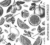 decorative seamless pattern... | Shutterstock .eps vector #621490610