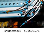 machine mechanic electric cable | Shutterstock . vector #621503678