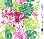 decorative seamless pattern... | Shutterstock .eps vector #621512606