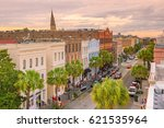 historical downtown area of ... | Shutterstock . vector #621535964