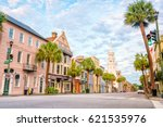 historical downtown area of ... | Shutterstock . vector #621535976