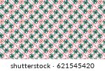 sloping colorful ornament for... | Shutterstock . vector #621545420