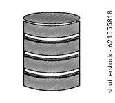 data disk storage icon | Shutterstock .eps vector #621555818