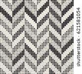 seamless irregular geometric... | Shutterstock .eps vector #621581054