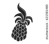 pineapple fruit | Shutterstock .eps vector #621581480
