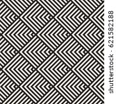 stylish lines maze lattice.... | Shutterstock .eps vector #621582188