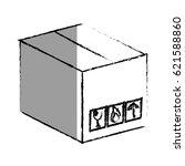 carton box packing icon | Shutterstock .eps vector #621588860