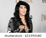 cher at the los angeles... | Shutterstock . vector #621593180