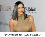 kim kardashian west at the los... | Shutterstock . vector #621593360