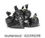 Large Group Of Full Garbage...