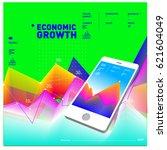 vector illustration mobile apps ...   Shutterstock .eps vector #621604049
