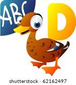 Animal Alphabet  C Is For Duck
