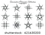 collection of decorative...   Shutterstock .eps vector #621630203