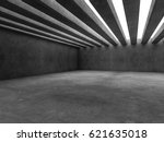 abstract architecture interior... | Shutterstock . vector #621635018
