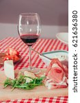 quick homemade appetizer and... | Shutterstock . vector #621636380
