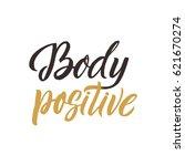 body positive. conceptual...   Shutterstock .eps vector #621670274