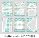 abstract vector layout... | Shutterstock .eps vector #621670304