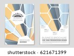 abstract vector layout... | Shutterstock .eps vector #621671399