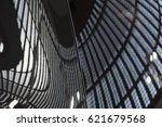 reflection of building lights... | Shutterstock . vector #621679568