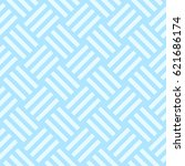 pattern stripe seamless sweet... | Shutterstock .eps vector #621686174