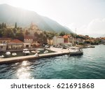 prcanj  montenegro the bay of... | Shutterstock . vector #621691868
