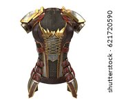Female Armor On The Body With...