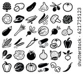 Vegetables Icon Collection  ...