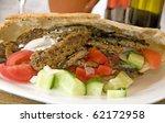 pork pita donner kebab sandwich ...   Shutterstock . vector #62172958