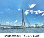 bangkok bridge | Shutterstock . vector #621731606