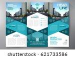 business brochure. flyer design.... | Shutterstock .eps vector #621733586