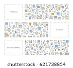 vector line concept for... | Shutterstock .eps vector #621738854
