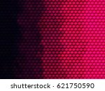 hot pink geometric abstract... | Shutterstock . vector #621750590