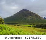 scottish nature. beautiful... | Shutterstock . vector #621751880