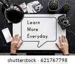 learn more everyday ideas... | Shutterstock . vector #621767798