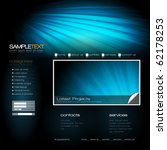 eps10 vector website design...   Shutterstock .eps vector #62178253
