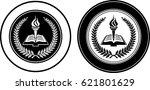 generic school seal | Shutterstock .eps vector #621801629