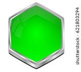 blank button   3d illustration   Shutterstock . vector #621803294