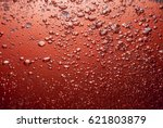 bubbles and oil in water | Shutterstock . vector #621803879