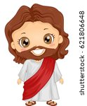 bible story illustration of a... | Shutterstock .eps vector #621806648