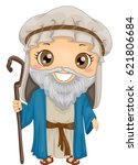 bible story illustration of a... | Shutterstock .eps vector #621806684