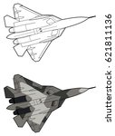 Modern Russian Jet Fighter...