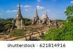 Aerial View Ayutthaya...