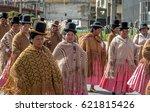 la paz  bolivia   april 30 ... | Shutterstock . vector #621815426