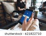 bangkok  thailand   april 16 ... | Shutterstock . vector #621822710
