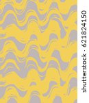 card with stripes  wave made by ... | Shutterstock .eps vector #621824150