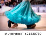 Turquoise Dress Female Dancer...