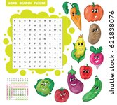 vector education game for... | Shutterstock .eps vector #621838076