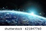 data exchange and global... | Shutterstock . vector #621847760
